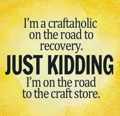 love being crafty