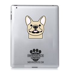 Hey, I found this really awesome Etsy listing at https://www.etsy.com/listing/223204592/french-bulldog-sticker-vinyl-decal-happy
