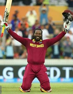 ab6acdae8ab Chris Gayle  West Indies opener hits first World Cup 200