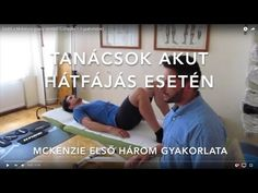 Mckenzie Exercises to Treat Back Pain Mckenzie Exercises, Back Pain, The Cure, Workout, Health, Fitness, Sports, Youtube, Acute Accent