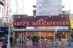 Katz's Deli: a true New York institution http://www.nyhabitat.com/blog/2015/04/27/top-10-delis-new-york-city/