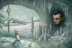Grotto of the old Mass~Artist Mark Ryden