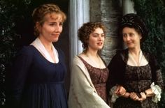 Sense & Sensibility (1995) - Emma Thompson as Elinor Dashwood, Kate Winslet as Marianne Dashwood & Gemma Jones as Mrs. Dashwood
