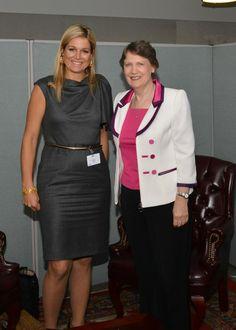 Koningin Máxima bezoekt Stichting La Luz en seminar over pensioenen | ModekoninginMaxima.nl