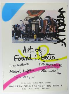 Keith Haring | Art of Found Objects Poster | Available for Sale | Artsy
