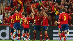 Spain Defeated France in QuaterFinals at Euro2012