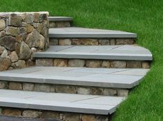 Jonathan - this is perfect how it is right into the grass on the one side! Love the clean look of the treads as well.