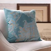 Found it at Birch Lane - Penelope Cotton Pillow Cover, Teal