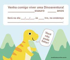 Die Dinos Baby, Safari, Party, Gabriel, Orlando, Anna, Iphone, Dinosaur Birthday Invitations, Dinosaur Birthday Party