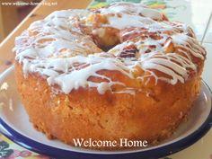 Welcome Home: Homemade Apple Cake with Vanilla Glaze