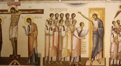 The New Romanian Masters: Innovative Iconography in the Matrix of Tradition / Ioan Popa, The Church of Alba Iulia, detail Paint Icon, Byzantine Art, John The Baptist, Orthodox Icons, Classical Art, Sacred Art, Spiritual Life, Source Of Inspiration, Religious Art