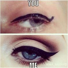 36 Of The Best Beauty Memes On The Internet #refinery29  http://www.refinery29.com/online-beauty-memes#slide-20  Bye, hater.