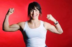 Marit Bjoergen Sochi 2014 Olympics Biceps Pictures, Images, Photos, Wallpapers