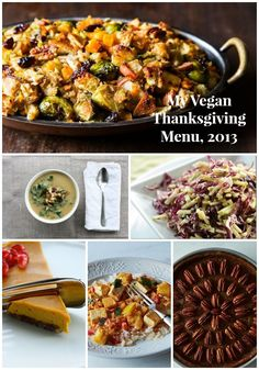 My Vegan Thanksgiving Menu, 2013