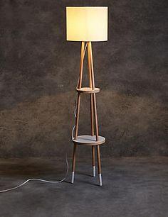 Loft Shelves Floor Lamp