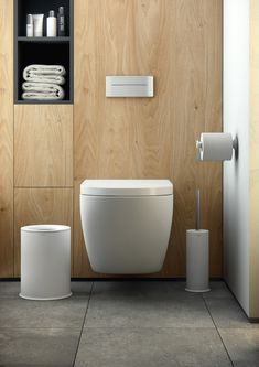 #Accesorios para el baño diseñados por #Nahtrang para #Cosmic Toilet, Canning, Bathroom, Ideas, Home, Bathroom Fixtures, Laundry Rooms, Bathroom Furniture, Washroom