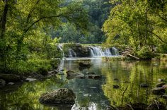 Sandstone Falls Inlet, West Virginia by Gib Bishop on 500px