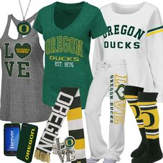 Women's University Of Oregon Fan Gear