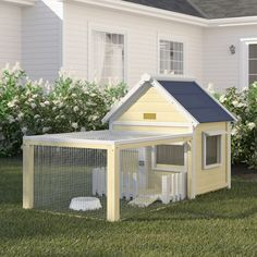 Hollowell White Picket Fence Rabbit Hutch Outdoor Lawn Garden Pets Animals Cage for sale online Rabbit Cages Outdoor, Outdoor Rabbit Hutch, Indoor Rabbit, Guinea Pig Hutch, Bunny Hutch, Guinea Pigs, Pet Bunny Rabbits, Pet Rabbit, Bunnies