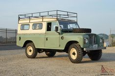 Land Rover 109 Serie III Sw Safari top. Very Clean, Euro 6 Cylinder, LHD, 51k. So nice.