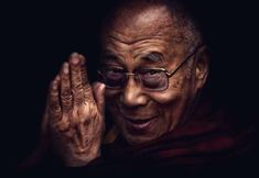"""At the end of his talk someone from the audience asked the Dalai Lama, """"Why didn't you fight back against the Chinese?"""" The Dalai Lama looked down, swung his feet just a bit, then looked back up at us. Citation Dalai Lama, 14th Dalai Lama, Tibetan Buddhism, Quantum Physics, Best Relationship, Ayurveda, Compassion, In This World, Amor"""