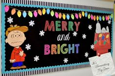 Merry #Christmas Happy #Classroom Decoration.