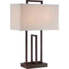 Lite Source Farren Dark Bronze Table Lamp