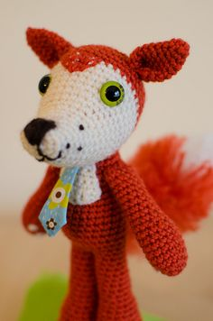 Vicky, The Fox Amigurumi  Crochet