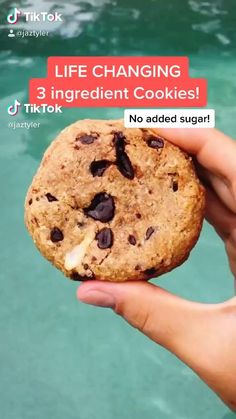Healthy Sweets, Healthy Dessert Recipes, Sweets Recipes, Healthy Baking, Healthy Food, Recipes For Snacks, Healthy Meals, No Sugar Desserts, Clean Eating Desserts