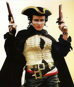 Adam Ant, I do believe he may have been the start of my appreciation of Steampunk style.