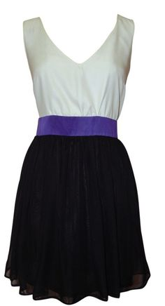 mimi chica Dresses Party Dress Open Lattice Back Chiffon Skirt Large Gorgeous!  #mimichica #EmpireWaist #Clubwear