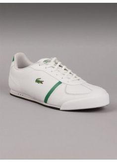079fdd22693ee Lacoste Men s Sneaker Aleron CI in White  PintheCroc Lacoste Shoes