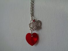 Evie inspired necklace by TinkerGirlBoutique on Etsy