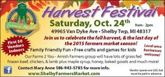 Don't forget the Harvest Festival is Tomorrow!!! www.Packardevents.org www.facebook.com/packardevents Fall Harvest, Corporate Events, Farmers Market, Don't Forget, Facebook, Fun, Autumn Harvest, Farmers' Market