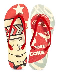 """""""AMERICANA"""" ft. Coca Cola Classic // Tidal NY SS15 Flip Flop Collection @cocacola @bloomingdales"""