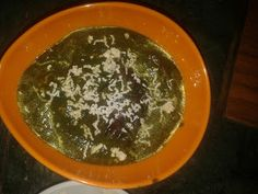 INDIAN CUISINE: PALAK MASHROOM
