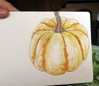 JaneVille: Sketching and Watercolor: Journal Style. A mini-lesson