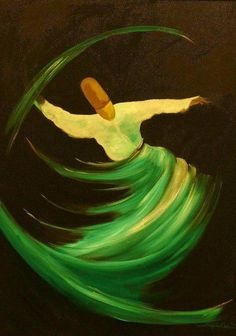 """Breathe into ME"" FB Rumi Quotes - artist unknown. loved so much the sight of whirling dervishes...."