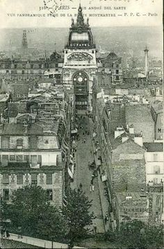 postcard Montmartre