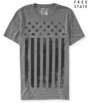 Free State Faded Flag Graphic T - Aéropostale®
