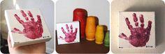 baby handprint crafts