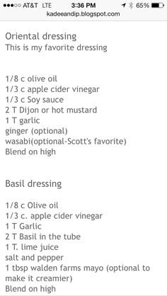 Ideal Protein Asian Dressing