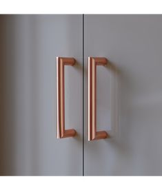 These Modern Styled, Minimal Design Pure Copper Handles Will Instantly Transform Your Door Or Drawer.