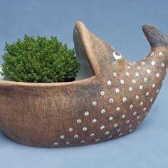 žardiny Hand Built Pottery, Ceramic Animals, Serving Bowls, Decorative Bowls, Tableware, Europe, Gardening, Gallery, Water