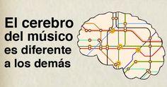 Los científicos estudiaron el funcionamiento del cerebro cuando se escucha música y se sorprendieron de la cantidad de zonas del cerebro que se estimulaban.