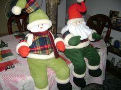 A la venta muñecos y patrones Elf On The Shelf, Dinosaur Stuffed Animal, Holiday Decor, Animals, Home Decor, Free Pattern, Fabrics, Patterns, Animales