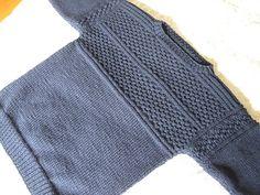 Knitting Patterns Boys, Knitting For Kids, Knitting Stitches, Knitting Designs, Baby Knitting, Handgestrickte Pullover, Pullover Design, Sweater Design, Knit Dishcloth