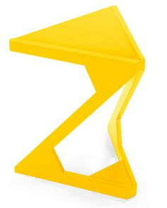 Zable Stool in yellow £65 | made.com #LetsColour