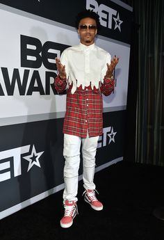 Ask Allen: What was August Alsina wearing at the 2014 BET Awards? | UpscaleHype