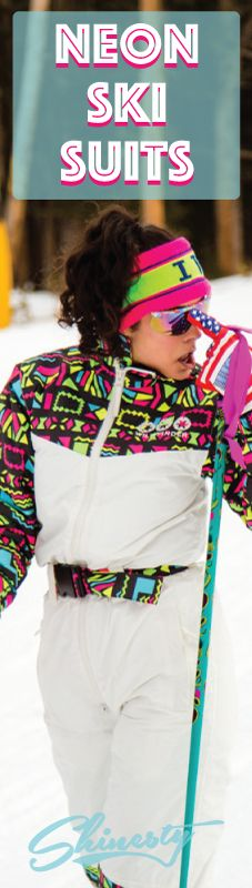 Get ready for Gaper Day with retro 80s and 90s ski gear at Shinesty.com